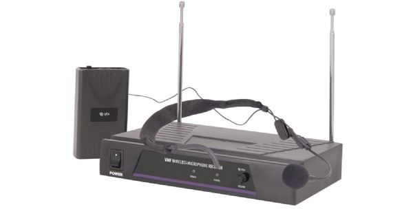Neckband Microphone VHF Wireless System